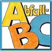 Abfall ABC kante