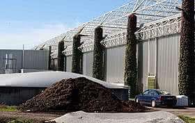 Kompostwerk mit Biofilter