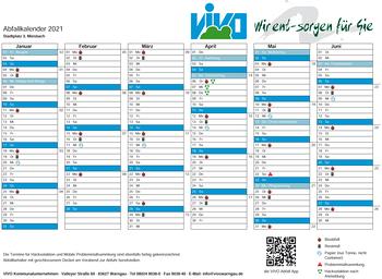 Abfall Kalender